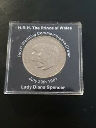 Royal Wedding Commerorative Crown Rare Key Date Lady Diana Spencer