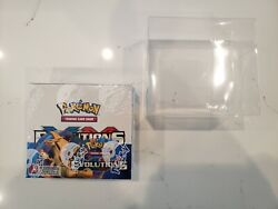 2016 Pokemon Xy Evolutions Booster Box Factory Sealed With Free Display Case 🔥
