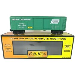 30-7472 Mth Penn Central Rounded Roof Box Car