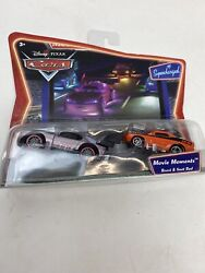 New Disney Pixar Cars Boost And Snot Rod Movie Moments Diecast Metal 155 Tuner