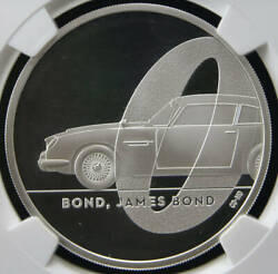 2020 United Kingdom 007 James Bond Andpound 2 Silver Coin Ngc Pf70uc First Releases Ant
