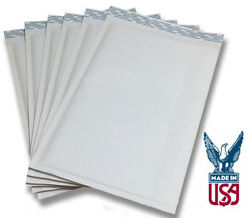 Size 000 4.25x7 Kraft White Bubble Mailers Ships Today