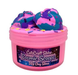 Diy Clay Butter Slime Cosmic Scoops Purple Mix Slime Asmr Scented 6 8 Oz