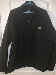 THE NORTHFACE BLACK ZIP UP MENS JACKET SIZE XXL $29.95