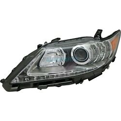 New Left Side Hid Head Lamp Lens And Housing Fits 2013-2015 Lexus Es300h Lx2518140