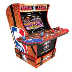 Nba Jam Arcade Riser Light Up Marquee 1up Game Room Fun Kids Party Toy All Ages
