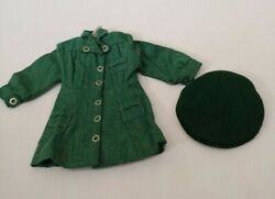 Vtg Terri Lee Girl Scout Uniform Green Beret 1950's Tagged Doll Clothes