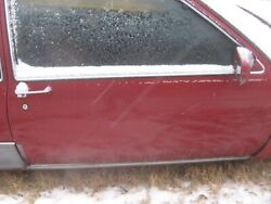 1989 Cadillac Deville Fwd Coupe Passenger Right Door Assembly90 89 Coupe Red