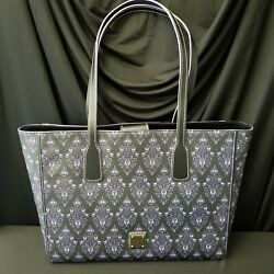 Actual Tote Disney Parks 2020 Dooney And Bourke Haunted Mansion Purple Wallpaper