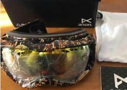 Nitraid Anon Collaboration Snow Boarding Googles Rare Limited Unused From Japan