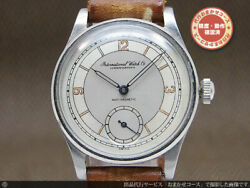 Old Inter Cal.83 1940s Manual Hand Wind Authentic Mens Watch Works