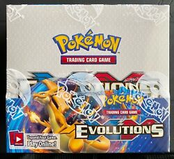 Pokemon Xy Evolutions Booster Box Factory Sealed Tcg 36 Booster Packs