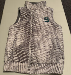 Women's Ncaa Michigan State Spartans Under Armour Xstorm1 Loose Fit Vest Size S
