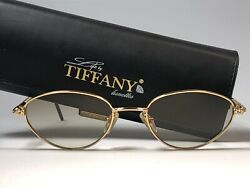 New Vintage T619 Cat Eye Gold Plated 1980's Sunglasses