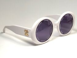 Vintage Rare 1993 Runway Camera Lens White Frame 90and039s Made In Italy