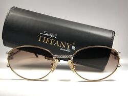 New Vintage T401 Silver And Gold Plated 1980's Gradient Lenses Sunglasses