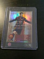 2014-15 Panini Wccf The Best Forward Lionel Messi Rare Barcelona Refractor Card