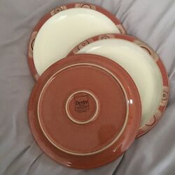Buy Two, One Free  3 Denby - England, Fire Chilli Dinner Plates