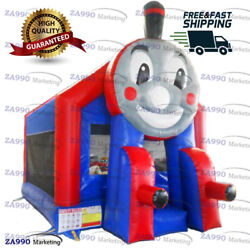 16x13ft Commercial Inflatable Thomas The Train Bounce House With Air Blower