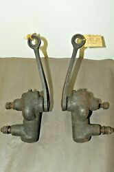 1933 Plymouth Dodge 6 Front Shock Absorbers Set Old Originals Delco Lovejoy Usa