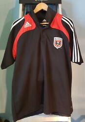 Pre-owned Adidas Climalite Dc United Mens Polo Shirt Size Mens Xl