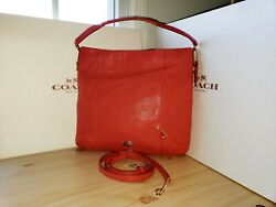 Coach Isabelle Pebbled Leather Hobo Cross BodyTote Purse 34511 $89.95