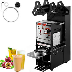 Vevor Semi-automatic Cup Sealing Machine Cup Sealer Black 300-500 Cups/hour