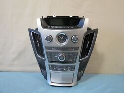 ✅ 09-13 Cadillac Cts Climate Control Xm Radio Cd Aux Player Panel Oem 22748621