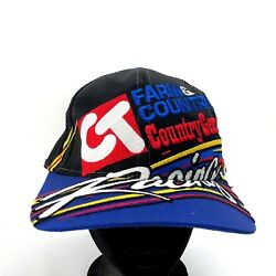 Farm And Country Country General Ct Racing Hat Snapback Chase Race Car Driver Cap
