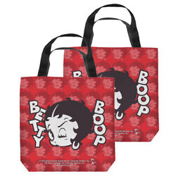 Betty Boop Forty Winks Double Sided Tote Bag - 4 Sizes