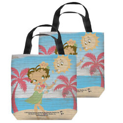 Betty Boop Hula Boop Double Sided Tote Bag - 4 Sizes