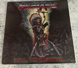 Meliah Rage Kill To Survive Vinyl Lp Record 1988 Epic Autographed Full Band Ex+