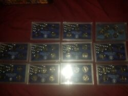 State Quarter And Atb Sets. Proof Clad 1999-2019 Pandd Mint Run 1999-2014 268coins
