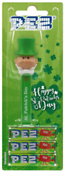 50 Pez St. Patrickand039s Day Exclusive Limited Edition Mint On European Card Pez