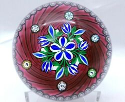 Gorgeous Perthshire 3 1/4 Paperweight Ltd Ed 1998f Annual 66 Of 200 Free Ship