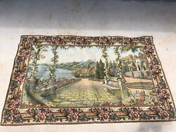 """Vintage Wall Decorative Tapestry Made In Turkey 58""""x36"""""""