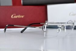 New Rimless Piccadilly C Decor Silver Smooth Occhiali Frame Sunglasses