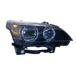 New Right Hid Head Lamp Lens And Housing Fits 2004-2006 Bmw 525i Bm2503124