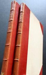 1936 Crusader Castles By T E Lawrence Rare Limited Edition Set In Fine Bindings