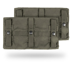 Crye Precision Jpc Long Side Armor Plate Pouch Set - Size 2 - Ranger Green
