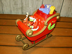 2018  Sleigh Time Push Button Action Toy Just Play Toys