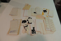 Mixed Retail Price Labels, Clothing ,jewelry , Vintage Lot Mix  Sticky Labels