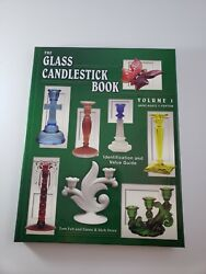 The Glass Candlestick Book: Identification and Value Guide: Volume I Akro Aga…