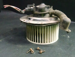 1998 Ford Explorer 4.0l Engine Hvac Heater Blower Motor And Fan Blade Assembly