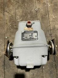 Foxboro Flanged Magnetic Flow Transmitter 1894-sdsb-bb 4106009