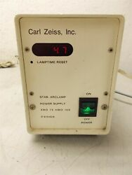 Carl Zeiss Microscope Stab Arclamp Power Supply Xbo 75 Hbo 100 910426