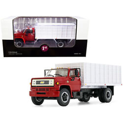 Chevrolet C65 Grain Truck Red And White 1/34 Diecast Model By First Gear 10-4...