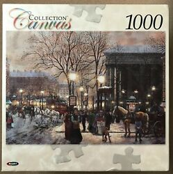 New Canvas Collection By Roseart 1000 Piece Jigsaw Puzzle Madeline Sandi Lebron