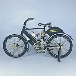 Harley Davidson Motorized Bicycle Die Cast Model Collectable