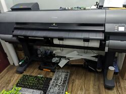 Canon Ipf8400 Large Format Printer 44 Plotter Home Use Only New Head